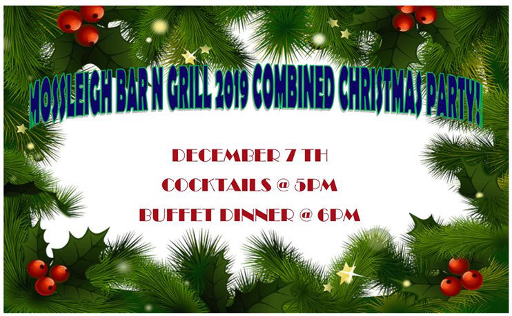 2019 Combined Christmas Party